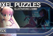 Pixel Puzzles Illustrations & Anime получает набор пазлов Musix