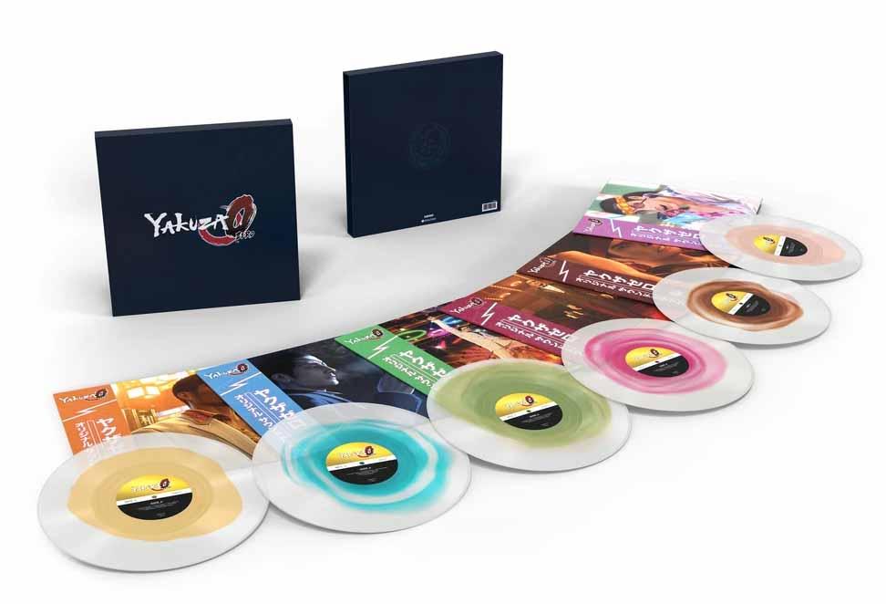 YAKUZA 0 (LIMITED EDITION X6LP BOXSET)