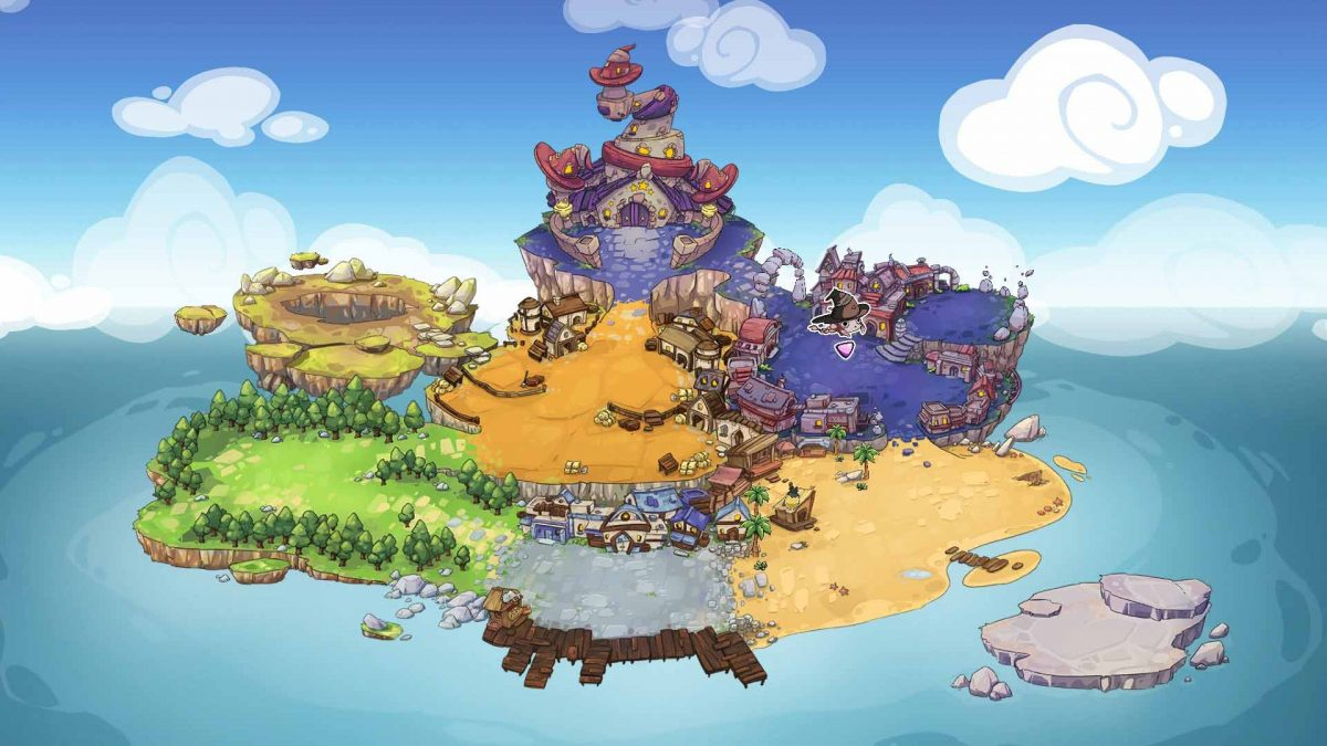 Magic Twins получает первое крупное обновление: теперь оно доступно в Steam и скоро появится на Nintendo Switch