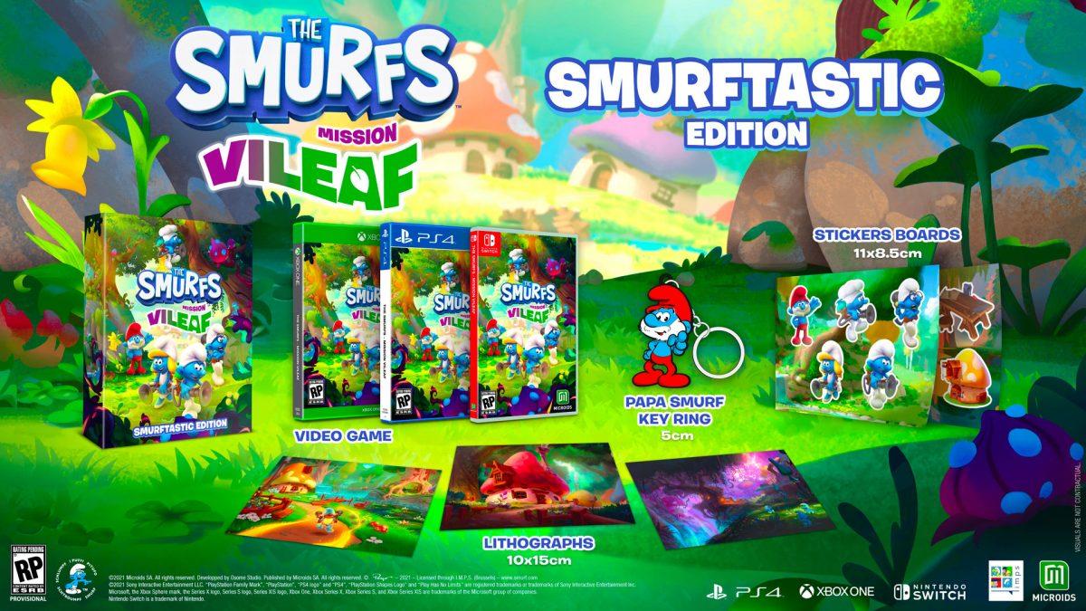 Издание Smurftastic Edition