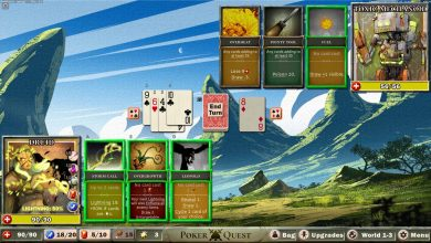 Уникальная и сложная карточная игра в жанре roguelike Poker Quest вышла в раннем доступе Steam