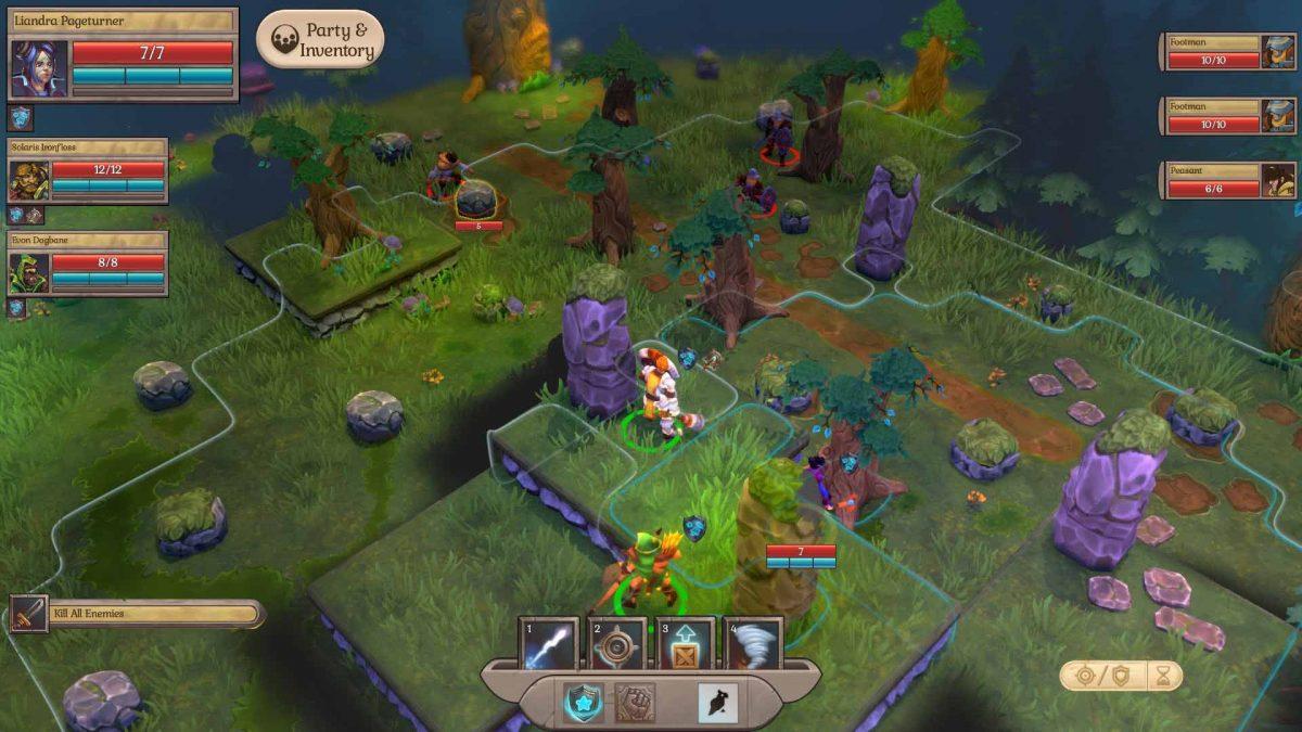 Fort Triumph, тактическая пошаговая игра в жанре фэнтези, доберется до консолей 13 августа