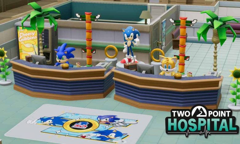 Two Point Hospital выводит его на новый уровень с событием Sonic the Hedgehog