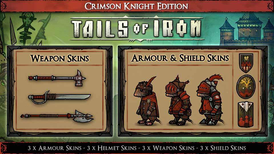 Набор скинов Crimson Knight