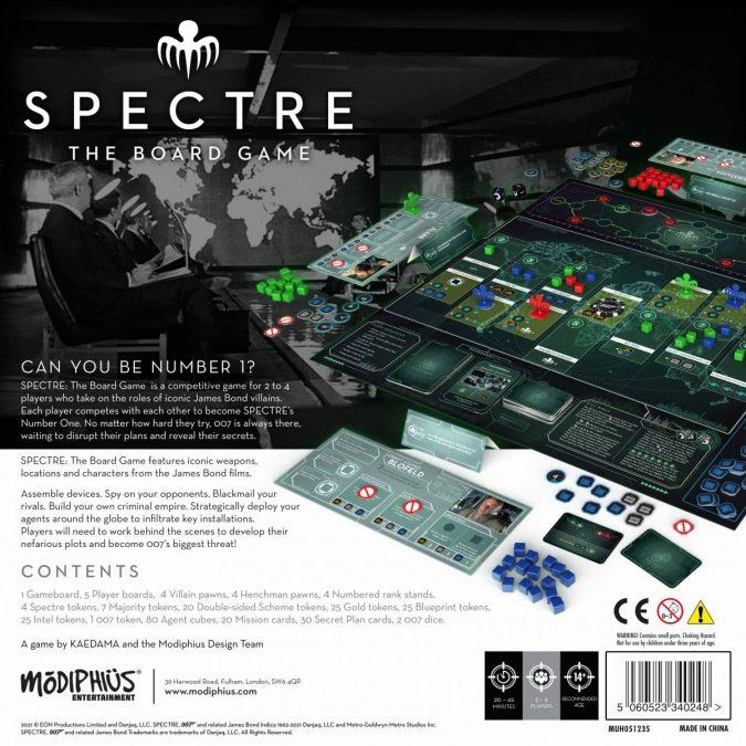 Настольная игра SPECTRE: The Board Game