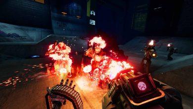 Жестокий киберпанк-шутер от первого лица Turbo Overkill выйдет на ПК, Nintendo Switch, PS5, PS4, Xbox Series X|S и Xbox One в 2022 году