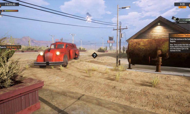 Игра Gas Station Simulator вышла в Steam