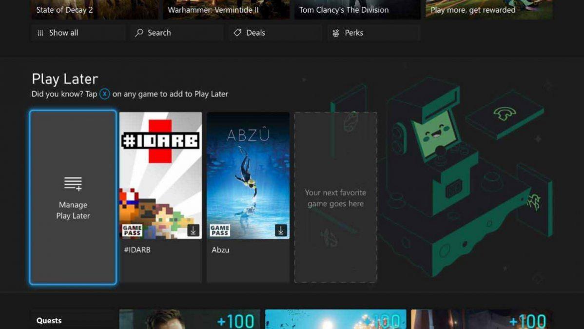Сентябрьское обновление Xbox: «Сыграть позже» и обновление браузера Microsoft Edge