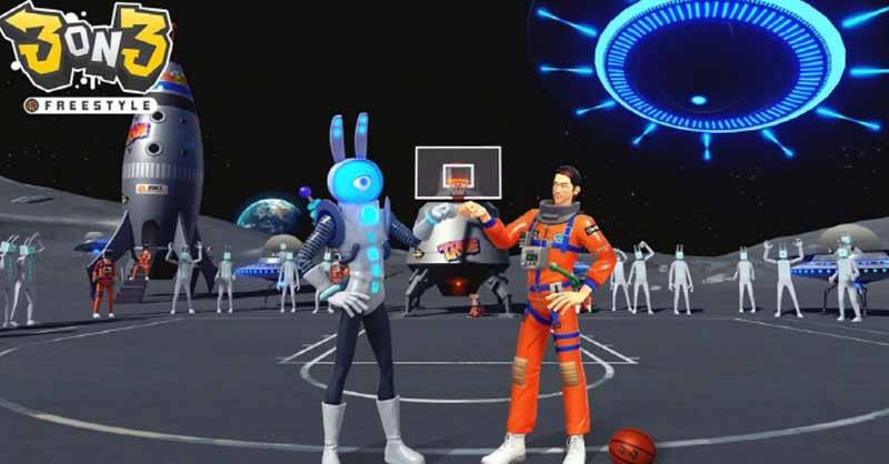 3on3 FreeStyle выходит в космос с новым астрономическим обновлением и улучшенным боевым пропуском