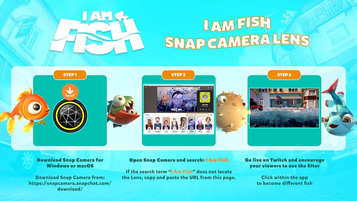 I Am Fish - Camera Lens