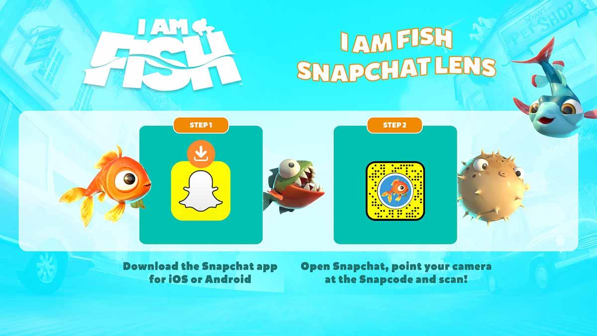 I Am Fish - Snapchat Filter