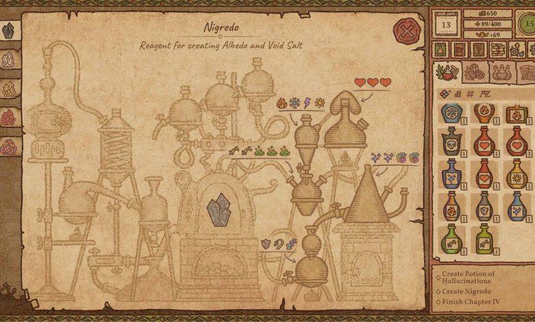 Potion Craft доступен в раннем доступе Steam