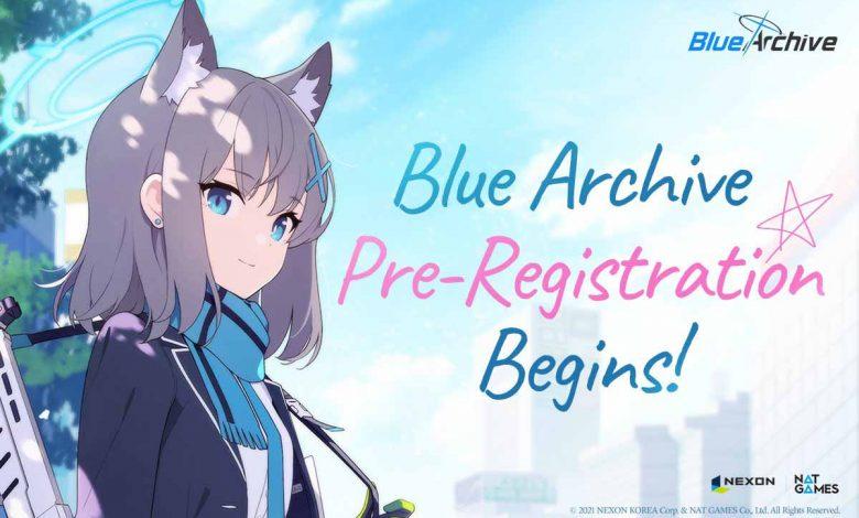 Открыта предварительная регистрация на RPG Blue Archive